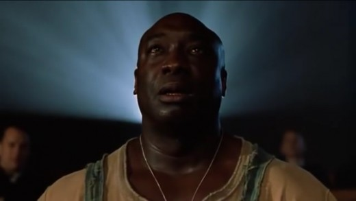 John Coffey is Darabont's Hollywood Jesus - a representation of contemporary suffering servant who preaches love, kindness and compassion through words, miracle and action