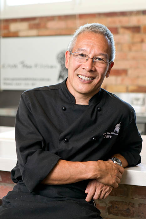 Chef Tony Ching, leading Sunnybank chef and owner of Discovery Food Tour in Sunnybank that gives opportunities to taste the best of the Landmark Restaurant. Phone 3345 7500.