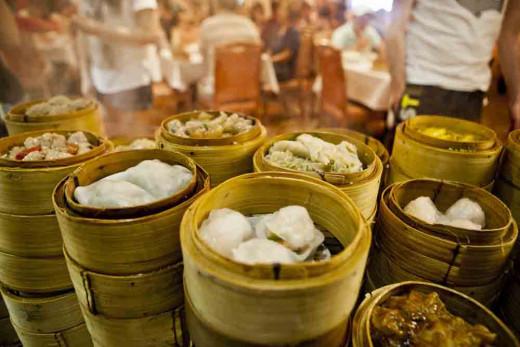 The dumplings of The Landmark Restaurant, Sunnybank