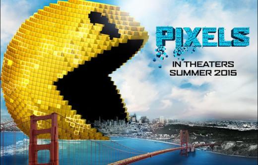 Pixels, 2015, movie poster