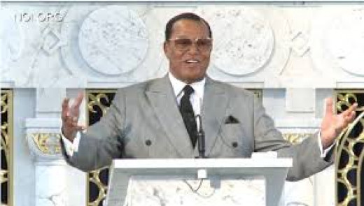 Religious leader Louis Farrakhan criticizes lawyers who collect high fees from poor people.
