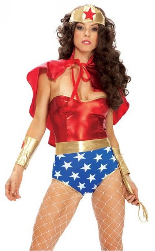 Wonder Woman costume like Kim Kardashian