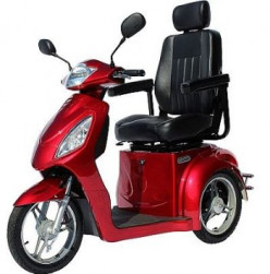 Electric Scooter For Mobility Challenged Senior Adventurers