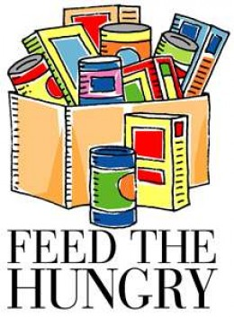 Feed the Hungry logo.