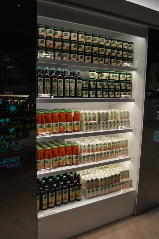 The future of supermarkets. Also, a great way to make more money at the EXPO.