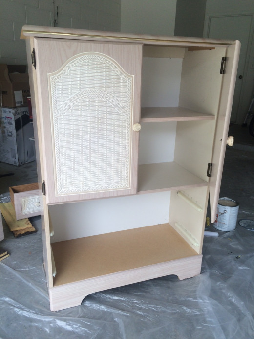Dresser before starting