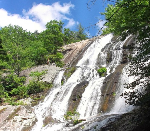 Crab Tree Falls is one of many waterfalls scattered throughout the valley.