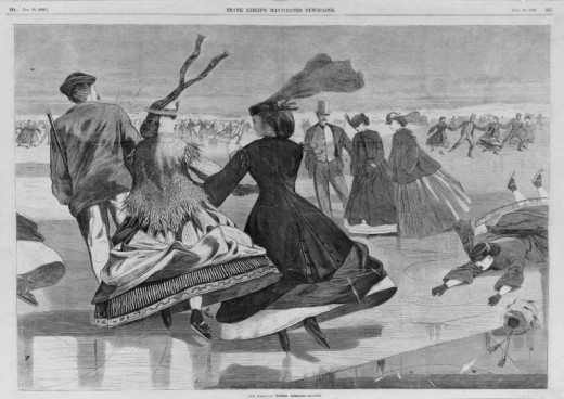 Our National Winter Exercise--Skating (1866)