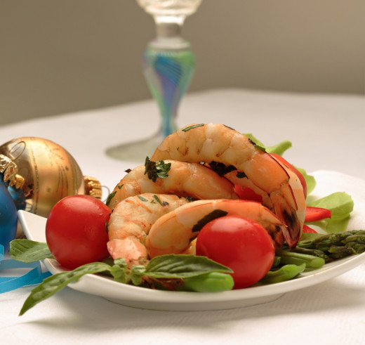Shrimp and Prawn dishes are ideal for snacks and appetizers. Served with chilled white wine, delightful sauces and crisp fresh salads. They also pair well with hot and aromatic spices.