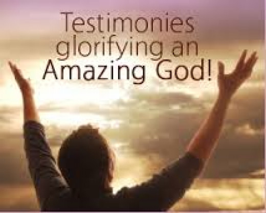 The More You Testify, The More He magnifies Himself. Halleluya.