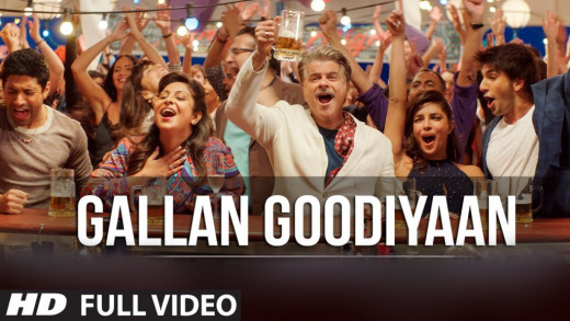 Gallan Goodiyaan from DDD is one of the best group dance songs from Bollywood movies 2015