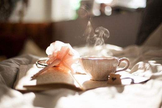 Tea is a soothing way to relax.