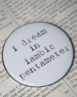 You Might Be Speaking in Iambic Pentameter Without Even Knowing It