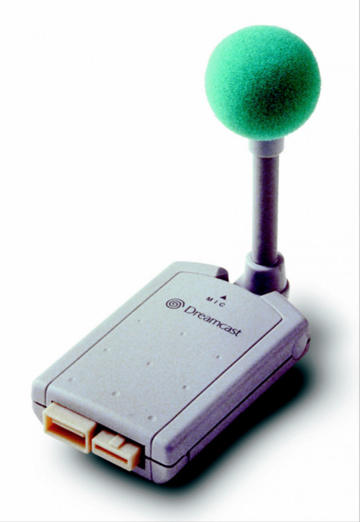 Official Dreamcast Microphone Unit.