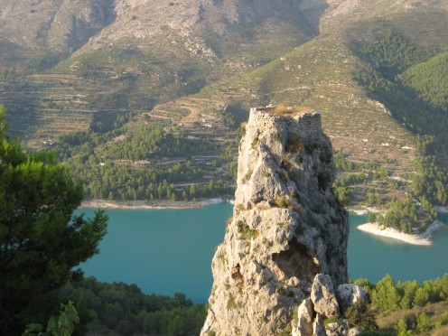 Peñon de la Alcalá or Rock of Alcala