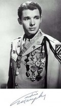 Audie Murphy was a highly decorated US soldier in WW2.  He died in a private plane crash in 1971