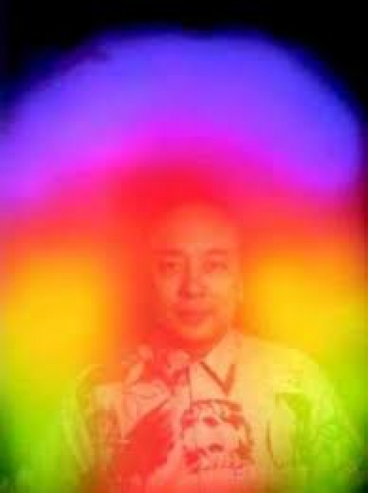 These beautiful auric body colours can be interpreted in a general way by certain types of clairvoyant seers.