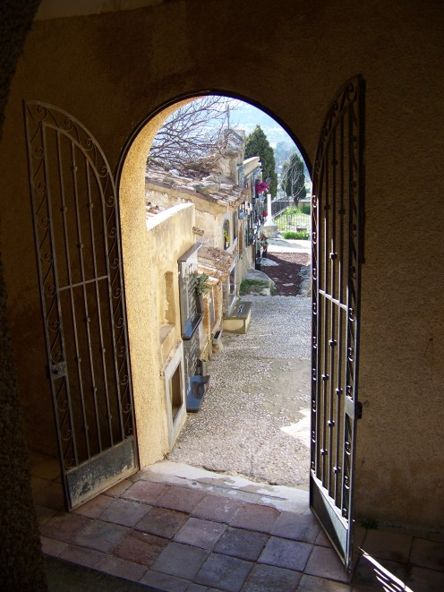 The Entrance to the Grave Yard