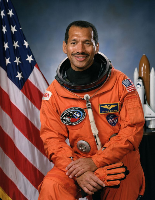 General (retired) Charles F. Bolden Jr. during his astronaut tenure 1981 - 1994.