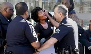 Women of color are also subjected to aggressive policing.