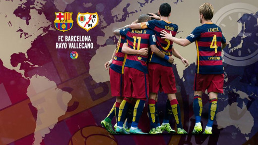FC Barcelona vs. Rayo Vallecano game this Sunday!
