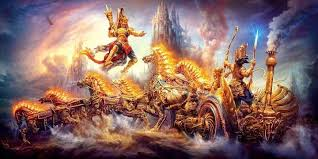 Karna in Battle