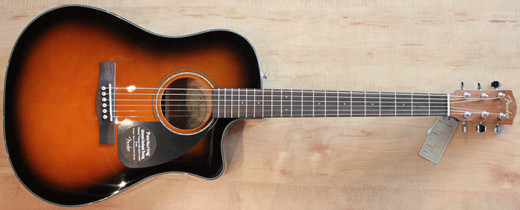 Fender Acoustic - Every guitar player dreams of owning one!