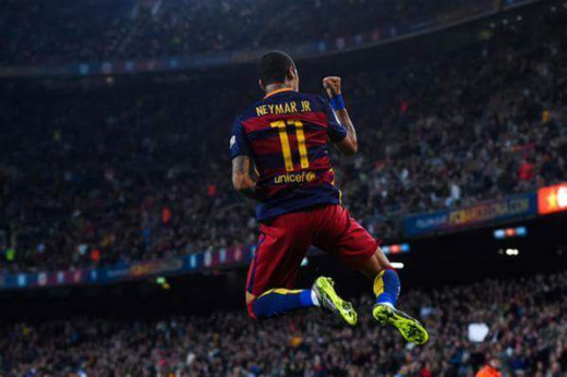 Cometh the hour, cometh the man - Neymar scores 4 goals!