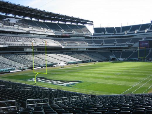 Home of the Philadelphia Eagles