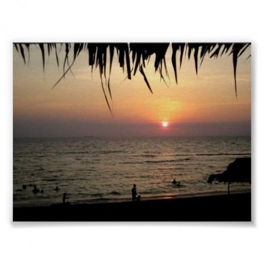 Bolinao Sunset Print