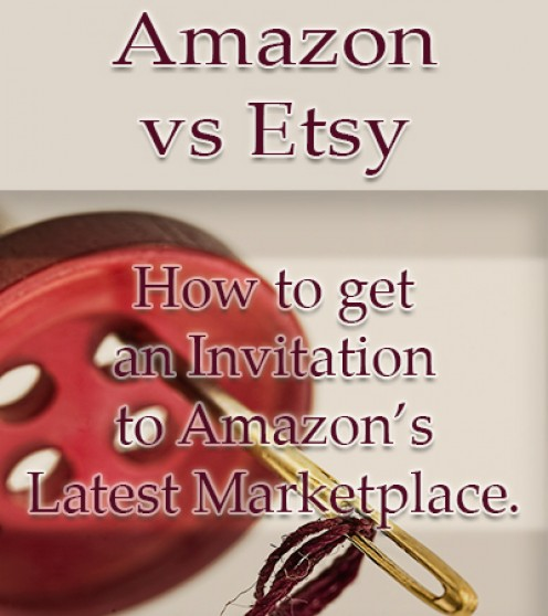 Did You Get an Invitation to Amazon Handmade?