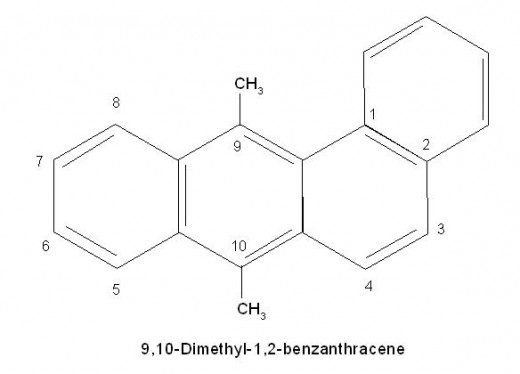 Please note carefully how numbering is done in poly nuclear substituted benzenoids