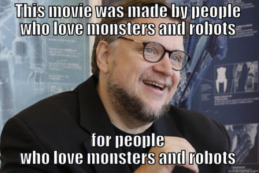 Guillermo del Toro, man, myth, legend, stater of the obvious and potential At the Mountains of Madness director
