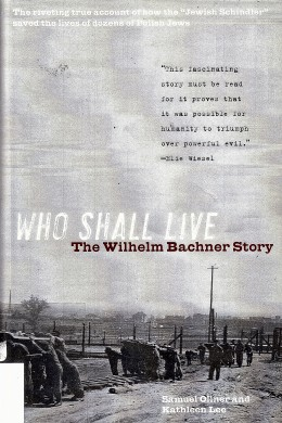 "The book ""Who Shall Live."""