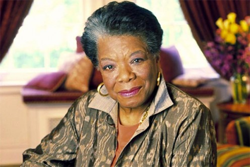 Maya Angelou - a much respected person of character