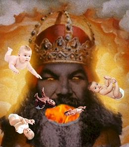 Yahweh LOVES children...extra crispy!