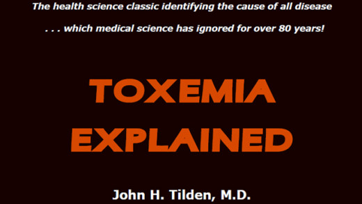 Toxemia explained.