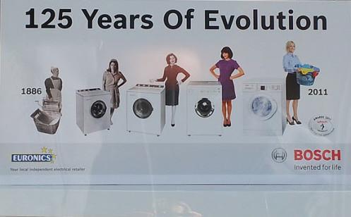 The Bosch Washing machine Ad