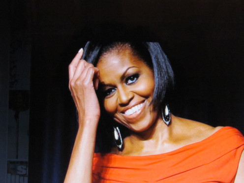 First Lady Michelle Obama, is featured on their website as a person of inspiration for young women today.