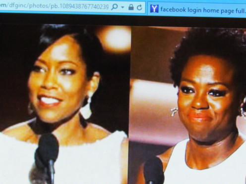 "Regina King and Viola Davis, are also featured on the ""Destined For Greatness"" Facebook page, as sources of inspiration. They were winners of the Emmy Awards recently."