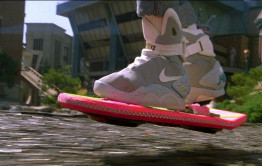 Hoverboards... as my spellchecker attests, don't exist. There is no such thing, or I just don't know how to spell it, or it exists only on Urban Dictionary.