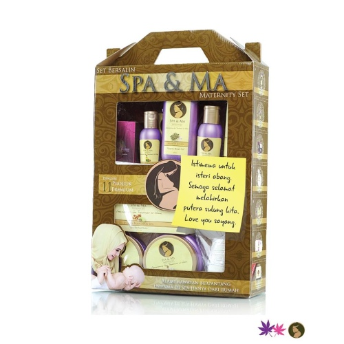 A post natal set from Spa & Ma