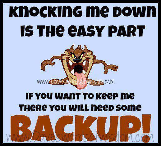 When Life Knocks You Down You Can Choose To Get Back Up Hubpages