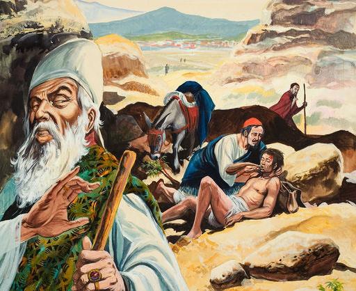 The Good Samaritan by Daily Edify. (Creative Commons)