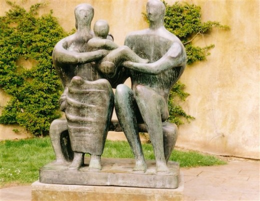 Family Group, by Henry Moore
