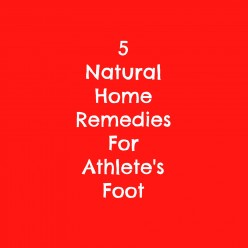 5 Natural Home Remedies for Athlete's Foot