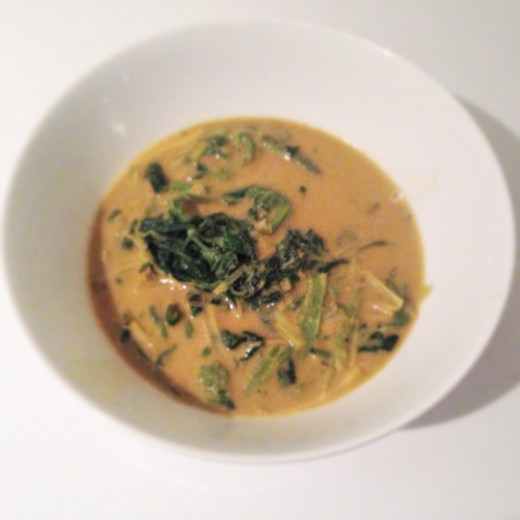 Vegetarian Thai curry