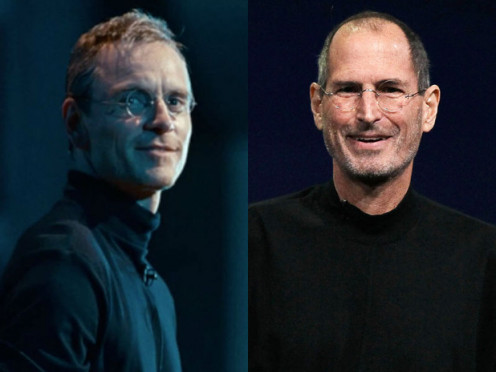 Michael Fassbender does look a lot like Jobs. His performance was very good as well.