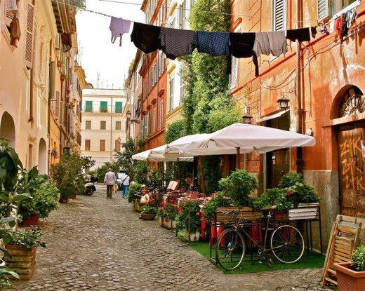 Places to Visit in Rome; Trastevere