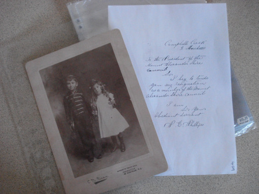 Photos and documents